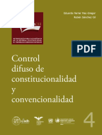 Control Difuso de Constitucionalidad y Convencionalidad-SCJN