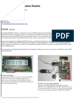 Dual RS232 Communications Routine