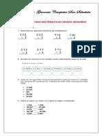 TALLER DE REPASO MATEMATICAS-GEOMETRIA 2°