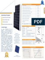 Ficha Tecnica 65 Watt Panel Solar Policristalino
