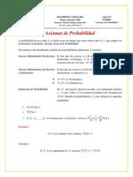 02 Teoría NEOS Axiomas de Probabilidad