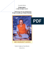 Nisargadatta Maharaj - Être Rien, c'Est Être Tout