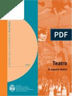 Doc Curricular -El Espacio Teatral - Aportes Para La Secundaria 2006 - Documento de Actualización Curricular