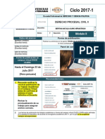 Derecho Procesal Civil II - alas peruanas