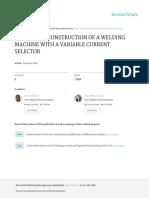 Design and Construction JournalRG-2