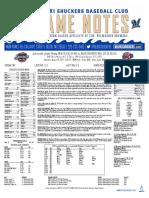 8.26.17 vs. JAX Game Notes