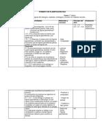 Formato de Planificación Dua