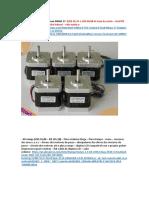 Impressora Graber i3 Lista de Pecas