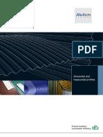 Broschure Aluminium Sinusoidal Profiles Aluminium Trapezoidal Profiles Facade Roof Aluform