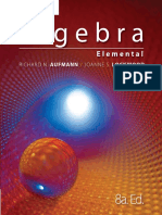 1) Algebra Elemental, 8va Ed. - Richard N. Aufmann