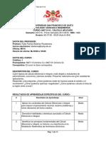 Syllabus_MAT 0116 No Vigente ISem 2017-2018 NRC 1926