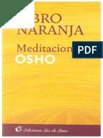 Osho Libro Naranja
