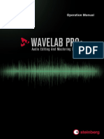 WaveLab Pro 9 Operation Manual En