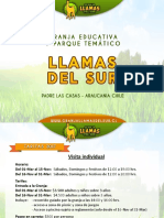 Presentacion Granja Llamas Del Sur Primavera-Verano 2017