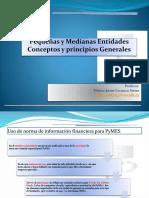 03 NIIF PYMEs Sec 1 y 2 Conceptos y Principios Generales