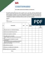 1.6.8 Encuesta Clima I Estudiantes Mod ESAN f.V