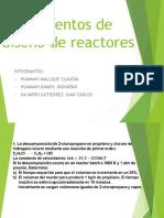 Expo Diseño de Reactores.