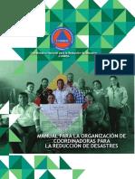 Manual Organizacion Coordinadoras Reduccion Desastres