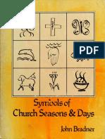 Symbols of Church Seasons & Days - John Bradner