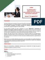 Elaboracion Indicadores Gestion UNFV
