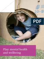 play - mental health and wellbeing