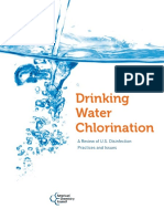 Drinking Water Chlorination a Review of Disinfection Practices and Issues