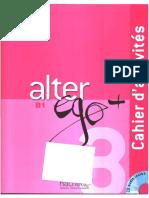 Alter Ego + 3  Cahier d'activités