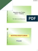 Aula 2 - Mecanica Dos Fluidos_2012.1
