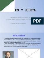 Romeo y Julieta Manifestaciones Artc3adsticas y Actualidad1