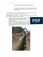Procedimiento de Bajado de Tuberia Proyecto Cañete