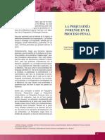 VIII - La Psquiatria Forense en El Proceso Penal - Octava Semana