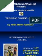 SESION N° 01. LEY Y REGLAMENTO SST -LEY 29783