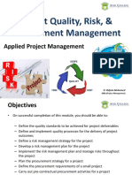 PM - Project Quality+Risk+Procurement
