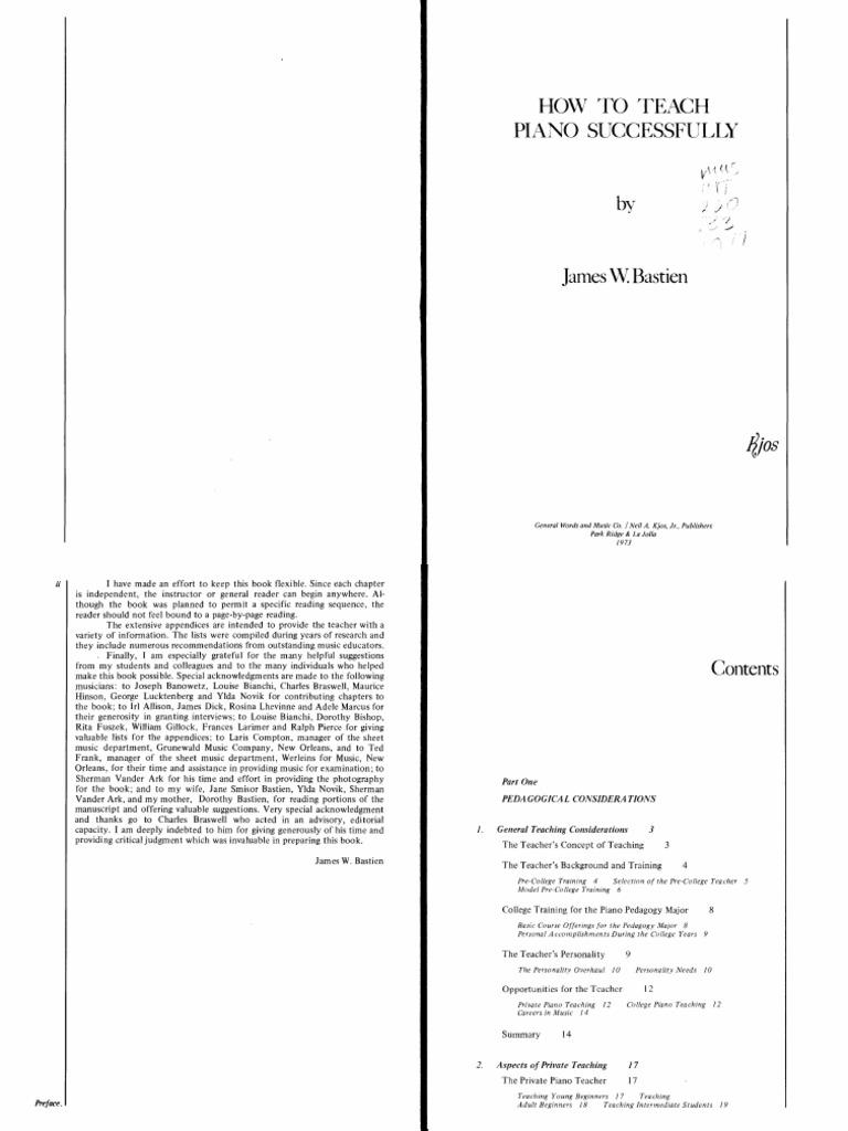 Bastien - How to teach piano successfully.pdf