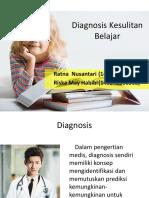 Diagnosis Kesulitan Belajar (Kelompok 5)