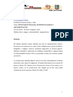 Enunciados Visuales, Intertextualidad y2011alascionealberto