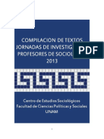 Compilacion Jornadas Profesores 2013