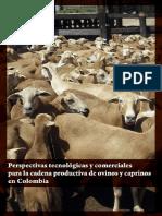Perspectivas Tecnológicas y Comerciales Para La Cadena Productiva de Ovinos y Caprinos en Colombia