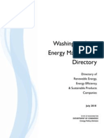 Washington State Energy Marketplace Directory