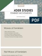 4. Gender Studies-Waves and Movements