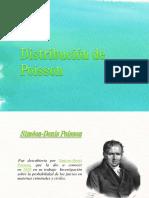 Distribución de Poisson.