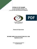 Informe Sobre Evaluacion Tcnica Del Cens