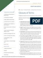Home Buyer Glossary