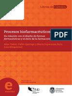 Procesos biofarmaceuticos