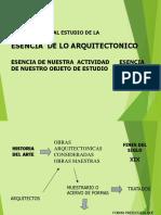 Esencia Arquitectonica