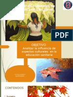 Aspectos Culturales de La Educación en Salud