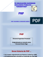 PHP Exposicion