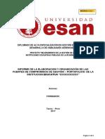 MODELO 1.5.1-A. = INFORME DE LA ORGANIZACIÓN DE FUENTES COMPROMISOS GESTION-PORTAFOLIOS