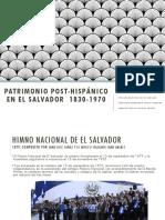 Epoca Post-hispanica El Salvador