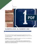 NUMEROLOGÍA EL NÚMERO UNO.docx